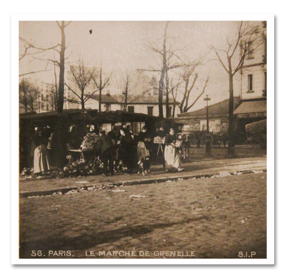 paris, photo, stereo, marche de grenelle, sip, 1900, boulevard de grenelle, place, etalages, animation