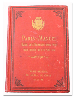 paris, guide, exposition universelle, 1878, le voleur, tolmer, illustrations, plan, livre ancien