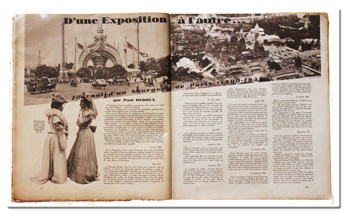 paris, exposition coloniale internationale, 1931, bravo, mensuel, desfosses neogravure, romi, reboux, demaison, angkor
