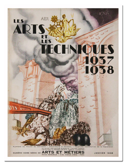 paris, exposition internationale, 1937, arts et techniques 1937 1938, arts et metiers, georges lang, 1938, ecole nationale des arts et metiers, revue, photo