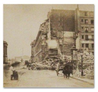 commune de paris, paris, 1871, album, photographies, albumine, tirages, incendie, destruction