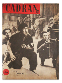 revue, cadran, 1, stationery office, septembre 1944, liberation, paris, guerre, photo